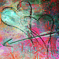Graffiti Hearts Poster by Anahi DeCanio
