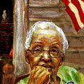 Grandma for Obama Poster by GARY WILLIAMS
