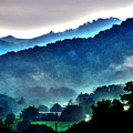 Great Smokey Mountains Poster by Susanne Van Hulst