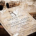 Great Wines Of Bordeaux - Chateau Latour 1955 Print by Frank Tschakert