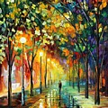 GREEN DREAMS Poster by Leonid Afremov
