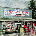 Greenbank Store Poster by Perry Woodfin