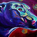Greyhound -  Print by Alicia VanNoy Call