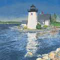 Grindle Point Light Print by Dominic White