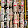 Hanging Salami Poster by Wingsdomain Art and Photography