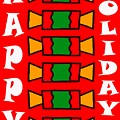 HAPPY HOLIDAYS 7 Poster by Patrick J Murphy