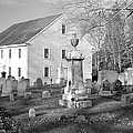 Harrington Meetinghouse -Bristol ME USA Print by Erin Paul Donovan