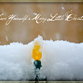 Have Yourself a Merry Little Christmas Poster by Lisa Knechtel