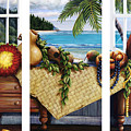 Hawaiian Still Life with Haleiwa on My Mind Print by Sandra Blazel - Printscapes