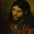 Head of Christ Poster by Rembrandt