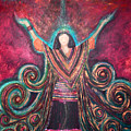 Healing Energy Print by NARI - Mother Earth Spirit