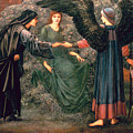 Heart of the Rose Print by Sir Edward Burne-Jones