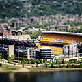 Heinz Field Pittsburgh Steelers Poster by Lisa Russo