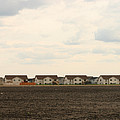 Homes on the Prairie Print by Steve Augustin