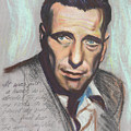 Humphrey Bogart  Not a chess piece was out of place Poster by Kean Butterfield