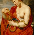 Hygeia - Goddess of Health Print by Peter Paul Rubens