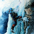 Ice Climb by Hanne Lore Koehler