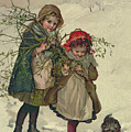 Illustration from Christmas Tree Fairy Print by Lizzie Mack