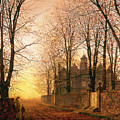 In the Golden Olden Time Print by John Atkinson Grimshaw