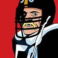 Jack Lambert Poster by Ron Magnes