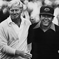Jack Nicklaus, Lee Trevino, At The U.s Print by Everett