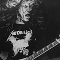James Hetfield Pencil 1987 Poster by Brian Carlton