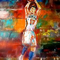 Jeremy Lin New York Knicks Poster by Leland Castro