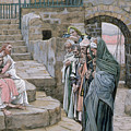 Jesus and the Little Child Print by Tissot