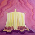 Jesus Christ is like a tent which shelters us in life's desert Print by Elizabeth Wang