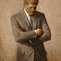 John F Kennedy Poster by War Is Hell Store