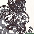 Johnny Manziel 8 Print by Jeremiah Colley