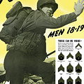 Join The US Army  Print by War Is Hell Store