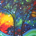 Joy by MADART Poster by Megan Duncanson
