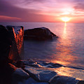 Just another Superior sunrise. Print by Jamie Rabold