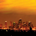 Kansas City Missouri Skyline Print by Don Wolf