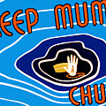 Keep Mum Chum Print by War Is Hell Store