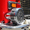 Kensington Fire District Fire Engine Siren . 7D15879 Poster by Wingsdomain Art and Photography