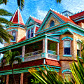 Key West Southern Most Hotel Poster by Bill Cannon