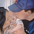 Kisses for Baby Poster by Terri Thompson