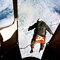 Kittinger Print by SPL and Photo Researchers