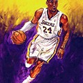 Kobe  Poster by Brian Child