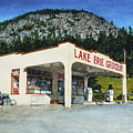 Lake Erie Grocery Print by Perry Woodfin