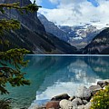 Lake Louise 2 Poster by Larry Ricker