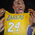 Lakers 24 Print by Daryl Williams Jr