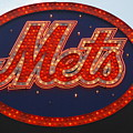 Lets Go Mets Poster by Richard Bryce and Family