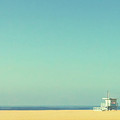 Life Guard Tower Poster by Denise Taylor
