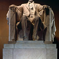 LINCOLN MEMORIAL: STATUE Print by Granger