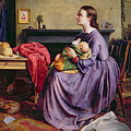 Lord - Thy Will Be Done Print by Philip Hermogenes Calderon