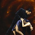Lost in Tango Poster by Richard Young