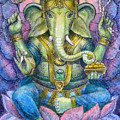 Lotus Ganesha by Sue Halstenberg